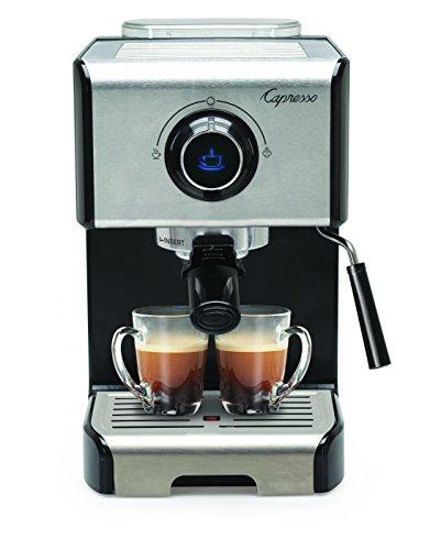 Capresso 12305 EC300 Cappuccino Espresso Machine 42 Stainless SteelBlack