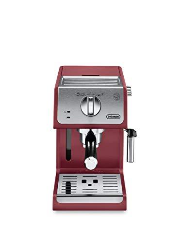 DeLonghi ECP3220R 15 Bar Espresso Machine with Advanced Cappuccino System 114 x 95 x 142 inches Red