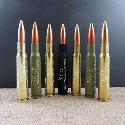 Personalized 50 Caliber Custom Bullet bottle Opener