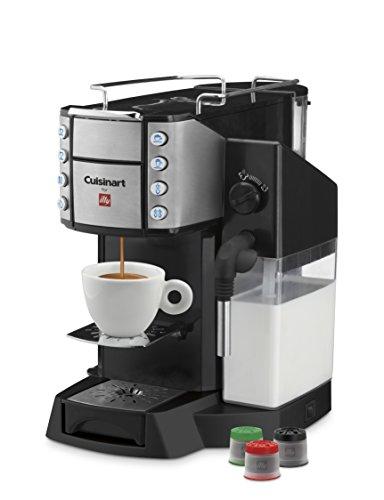 Cuisinart EM-600 Buona Tazza Superautomatic Single Serve Espresso Caffe Latte Cappuccino and Coffee Machine Black