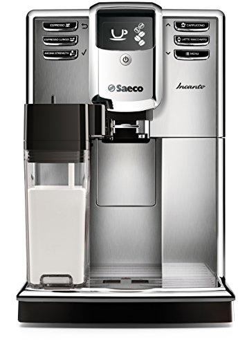 Saeco Incanto Carafe Automatic Espresso Machine Stainless Steel