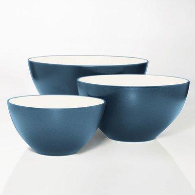 Noritake Colorwave Blue 3-Piece Bowl Set