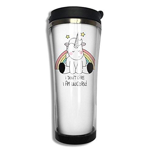 LinPark I Dont Care I Am Unicorn Coffee Mug Stainless Steel Mug Vacuum Cup