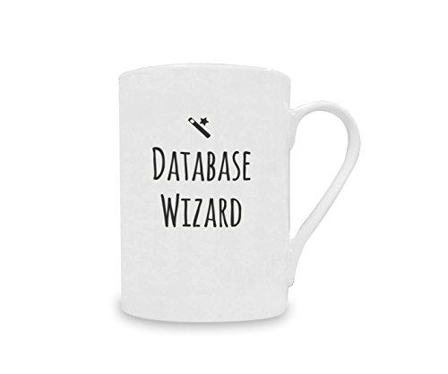 Database Wizard Data Formula Mug China Design Novelty Gift 10oz Coffee Cup Tea
