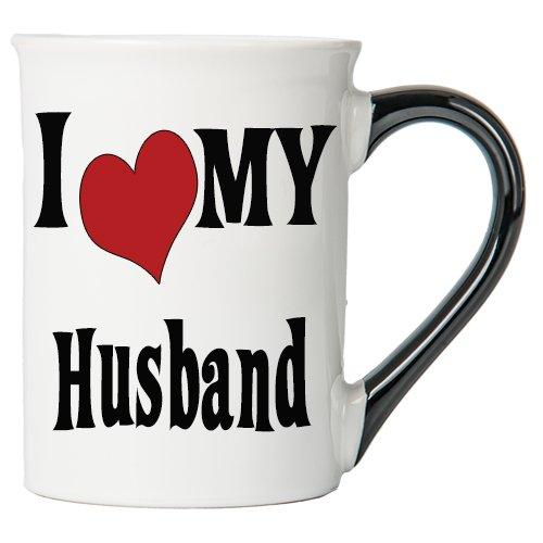 I Love My Husband Large 20 Oz Coffee Mug Husband Ceramic Coffee Cup Gifts For Husbands By Tumbleweed