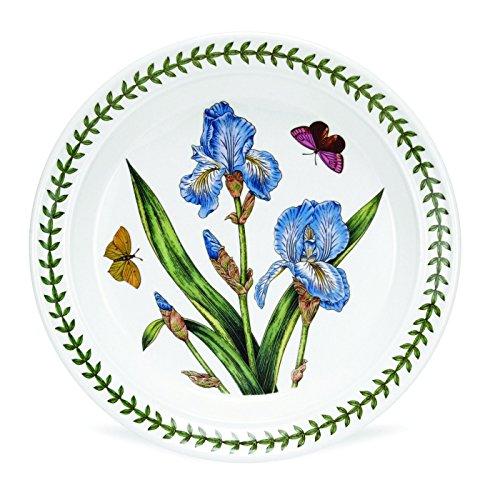 Botanical Garden Salad Plate-Assorted Flower- 1 Plate