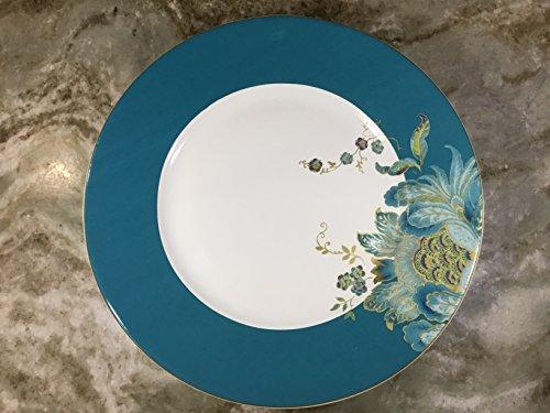 222 Fifth Eliza Teal Dinner Plates Set of 4