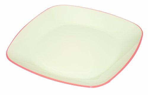 TAKENAKA Square Plate Coral