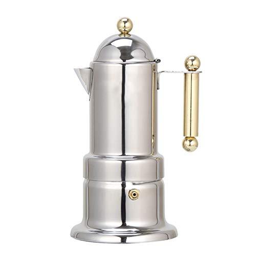 Gocheaper Coffee Maker Stainless Steel Moka Espresso Coffee Latte Maker Percolator Stove Top Pot