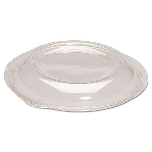 Genpak BWS932 Dome Lids for Silhouette Plastic Bowls Clear F2432oz Bowls 200Carton