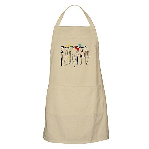 CafePress - Draw Paint Create Color Apron - Kitchen Apron with Pockets Grilling Apron Baking Apron