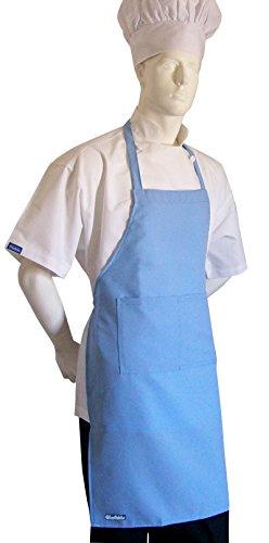 Original Chefskin Lite Chef Adult Apronhat in Baby Blue Color