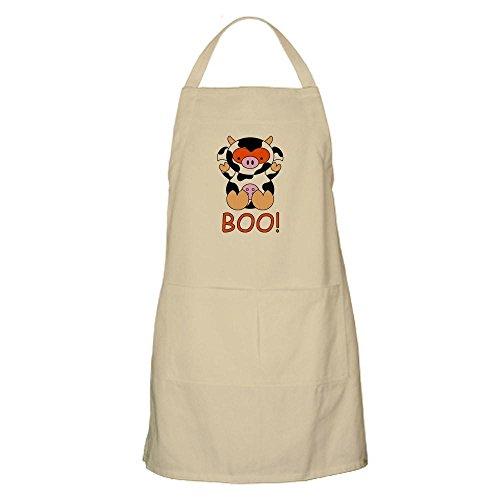 CafePress - Halloween Cow Apron - Kitchen Apron with Pockets Grilling Apron Baking Apron