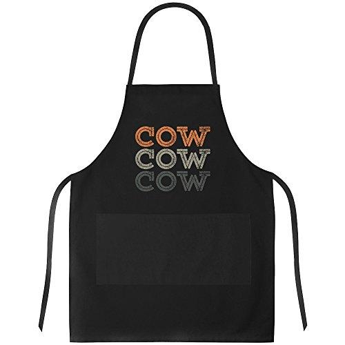 Idakoos - Cow repeat retro - Animals - Apron
