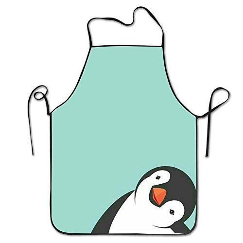Unisex Cute Penguin Apron Commercial Restaurant And Home Kitchen Apron