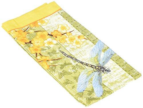 Paperproducts Design 35007 Drobrott Dragonfly 100-Percent Cotton KitchenBar Towel