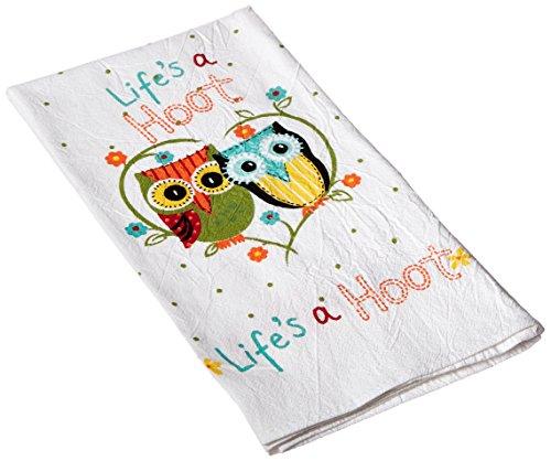 Kay Dee Designs Cotton Flour Sack Towel Lifes A Hoot
