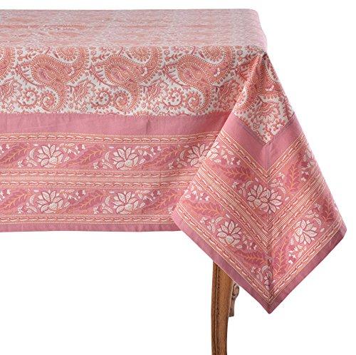 Mahogany Alice Coral Tablecloth 60 x 120