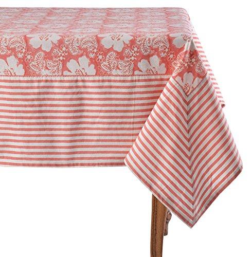 Mahogany Era Coral Tablecloth 60 x 90
