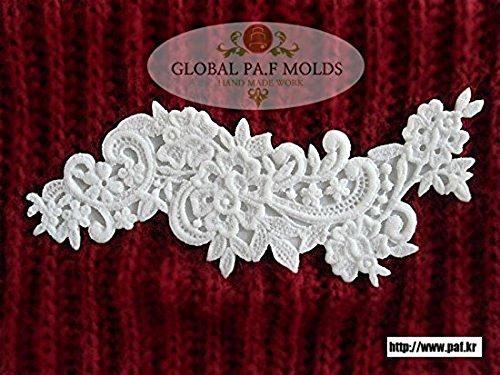 Handmade Silicone Fondant Mouldnew Lace Mold 467gf