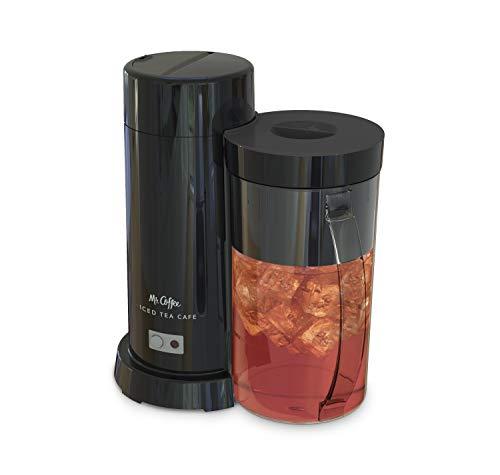 Mr Coffee 2-Quart Iced Tea Iced Coffee Maker Black