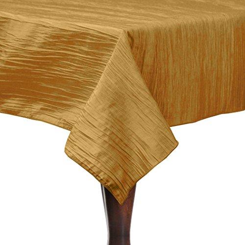 Ultimate Textile Crinkle Taffeta - Delano 50 x 120-Inch Rectangular Tablecloth Paradise