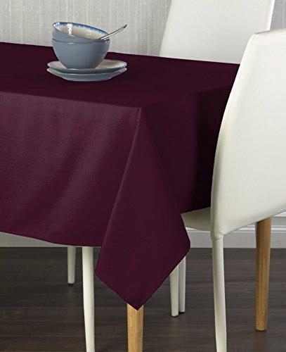 Burgundy Milliken Signature Tablecloth 60 x 102