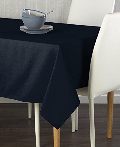 Navy Milliken Signature Tablecloth 60 x 102