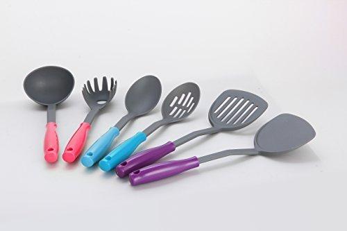 6 Piece Nylon Kitchen Tool Set
