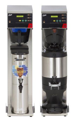 Wilbur Curtis G3 Combo Coffee Tea Brewer 35 Gallon Tea15 Gallon Coffee Single Tea And Coffee Brewer - Commercial Combo Coffee Tea Brewer - CBHS Each