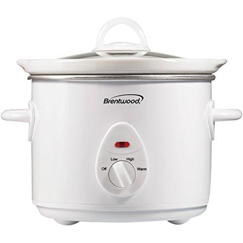 Brentwood Appliances SC-135W 3-Quart Slow Cooker White