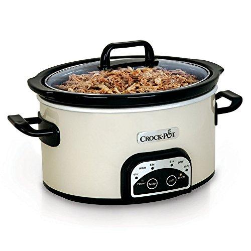 Crock-Pot Smart-Pot 4-Quart Digital Slow Cooker White SCCPVP400