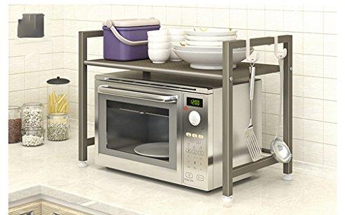 Hyun times Kitchen Microwave Oven Rack Floor Rack Rack Single-storey Kitchen Multi-function Rice Cooker