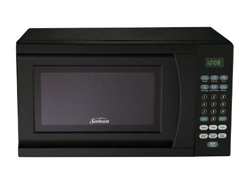Sunbeam SGS90701B-B 07-Cubic Foot Microwave Oven Black