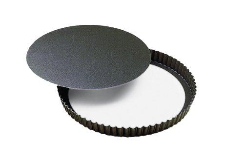 Paderno Nonstick Fluted TartQuiche Pan 7 34 Dia