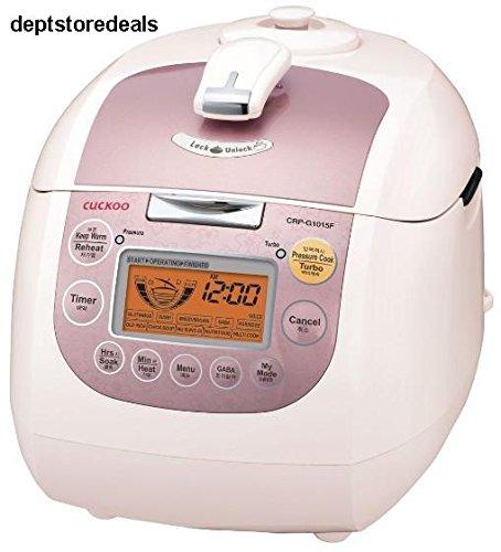 Cuckoo CRP-G1015F 10 Cup Electric Pressure Rice Cooker 110v Pink TM79F-32M UGBA124466