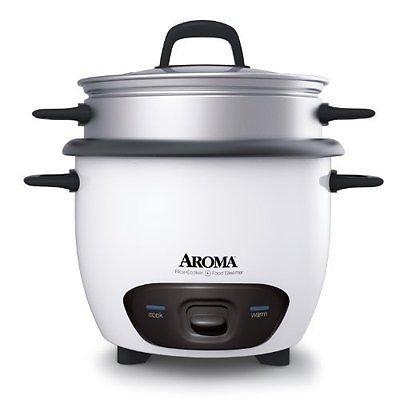 Aroma Arc-743-1ng 3 Cup Rice Cooker Arc7431ng Fast Ship