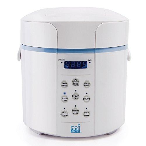 Aroma MI Pressure Rice Multi Cooker Blue MPC-912BL
