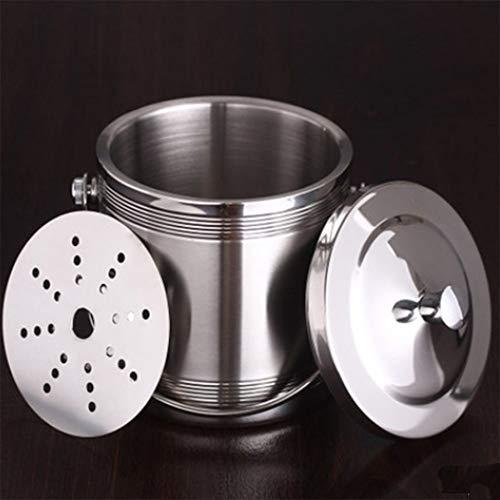 Mmcj Metal Ice Bucket Steel Construction Lid Included Size  Big