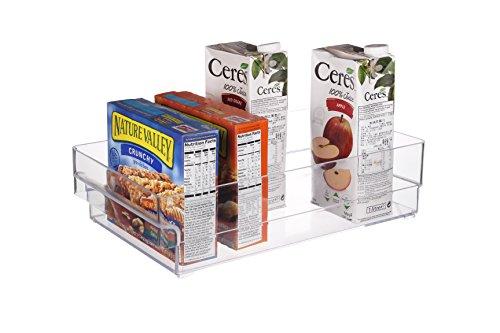 Scottys TM Refrigerator Freezer and Pantry Storage Organizer Bin - Great to Organize Your Fridge and Whole Kitchen -BPA Free 1 145 x 8 x 4 Inches