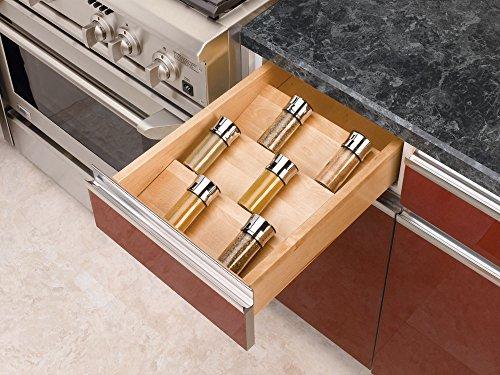Rev-A-Shelf - 4SDI-18 - Large Wood Spice Drawer Insert