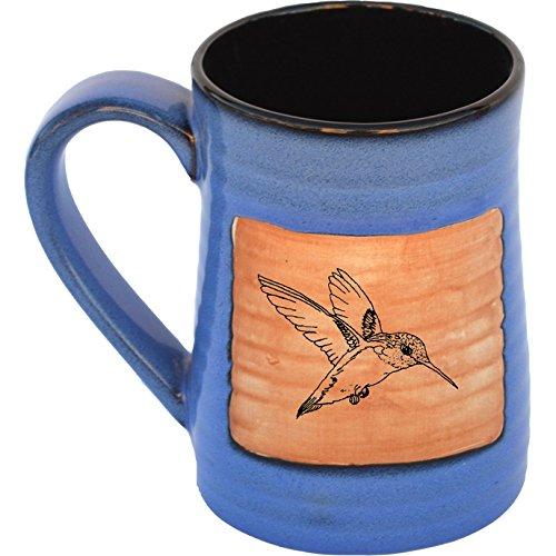 Hummingbird 17 Oz Small Tankard in Real Blue glaze