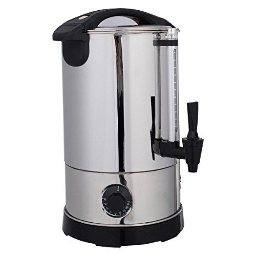 Giantex Stainless Steel 6 Quart Electric Water Boiler Warmer Hot Water Kettle Dispenser