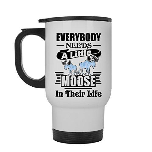Moose Travel Mug Moose White Travel Mugs Ceramic For You And Your Family Travel Mug