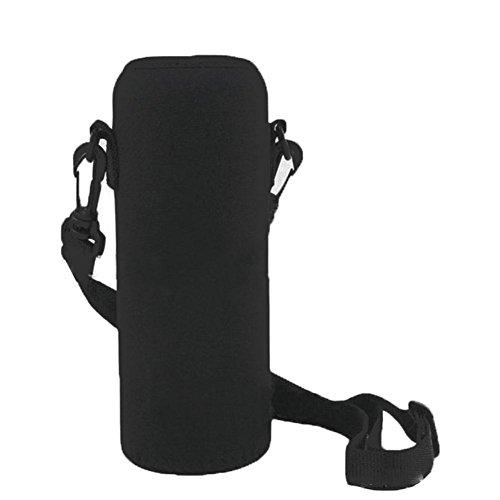 Forfar Carrier Insulated Cover Bag 600ML Neoprene Water Bottle Shoulder Holder Strap Travel Useful Drink Sport Accessori