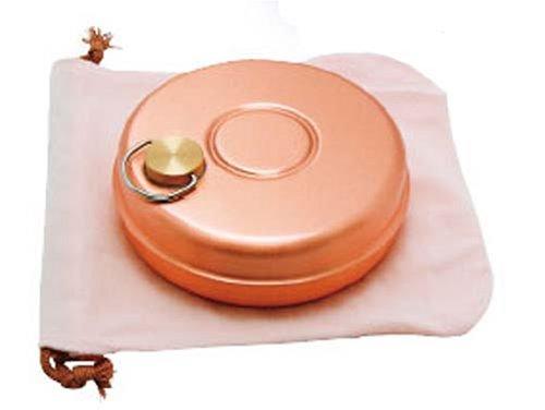 Shinko-do with pure copper mini hot water bottle bag 085L S-9397 by Shinko metal
