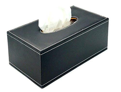 Bellaa 21512 Rectangle Tissue Box Holder Napkin Paper 11 inch