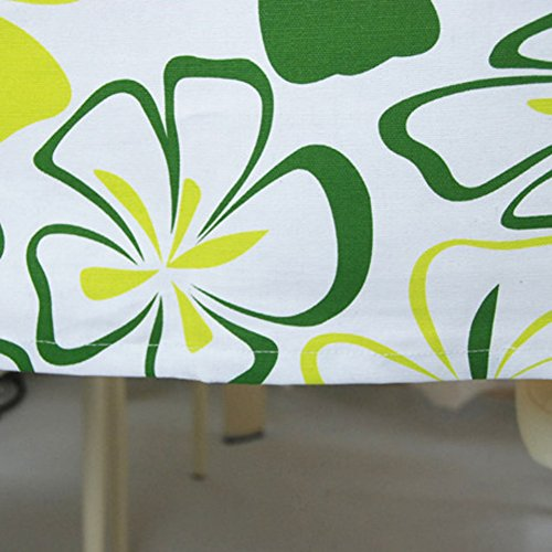 LCM Pastoral positive rectangular solid round table cloth Korean small fresh table cover table cloth table cloth-B 100x100cm39x39inch