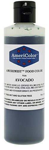 AmeriColor AmeriMist Avocado Airbrush Food Color 9 Ounce