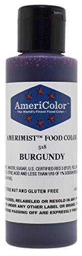 AmeriColor AmeriMist Burgundy Airbrush Food Color 45 oz